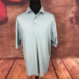 FootJoy FJ Gray Polo Shirt Size XL 97.1